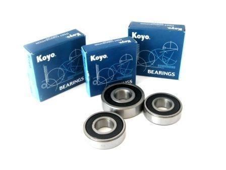 Boss Bearing - Boss Bearing Japanese Rear Wheel Bearings and Seals Kit