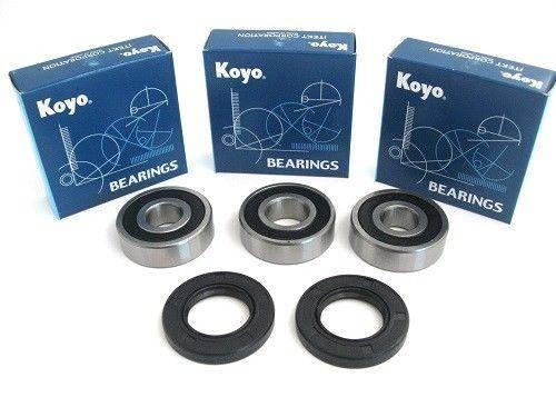 Boss Bearing - Boss Bearing Japanese Rear Wheel Bearings Seals Kit for Honda CBR600F 1997-1990