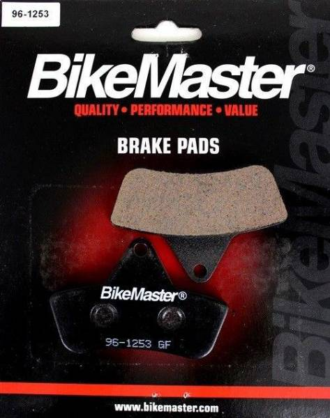 BikeMaster - Boss Bearing Rear Brake Pads BikeMaster O7063 for Arctic Cat