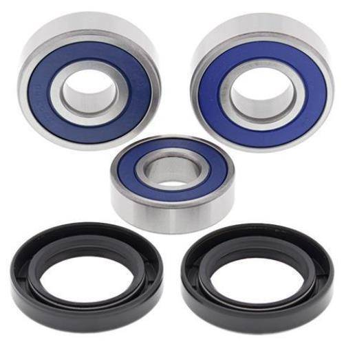 Boss Bearing - Boss Bearing Rear Wheel Bearings and Seals Kit for Honda