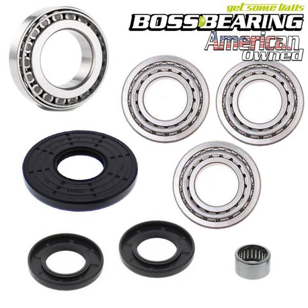 Boss Bearing - Boss Bearing G2 XMR 800/850/1000/1000R Rear Differential Bearing and Seal Kit for Can-Am