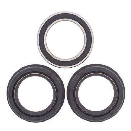 Boss Bearing - Boss Bearing Rear Axle Wheel Bearings and Seals Kit for Honda