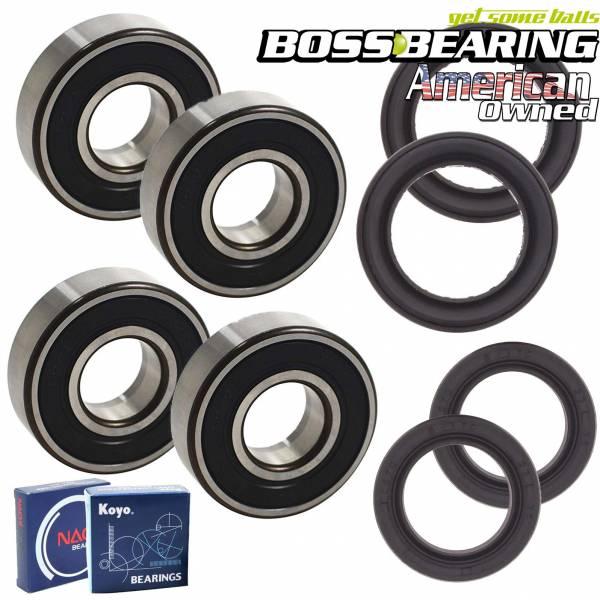 Boss Bearing - Premium Front Wheel Combo Kit for Honda TRX250X, TRX400EX/X and 450R