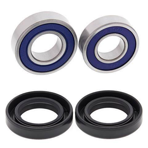 Boss Bearing - Boss Bearing Front Wheel Bearings and Seals Kit for Honda TRX70 1986 1987
