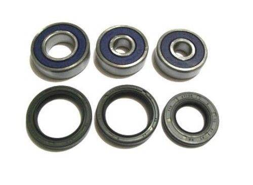 Boss Bearing - Boss Bearing Rear Wheel Bearings and Seals Kit for Yamaha