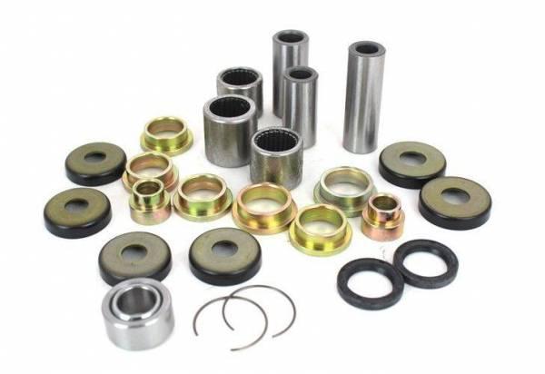 Boss Bearing - Boss Bearing Rear Suspension Linkage Bearings and Seals Kit for Honda