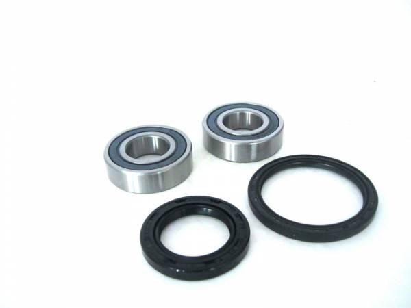 Boss Bearing - Boss Bearing 41-6264B-8F7-A-9 Front Wheel Bearings and Seals Kit for Honda