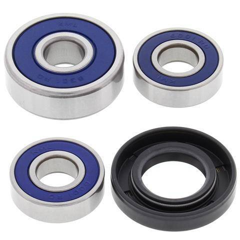 Boss Bearing - Boss Bearing Rear Wheel Bearings and Seal Kit Yamaha YZ80 1984-1992
