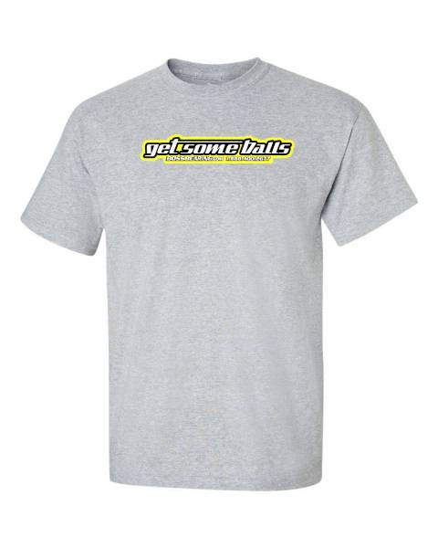 "Boss Bearing - Boss Bearing Grey  ""Get Some Balls"" T-Shirt"