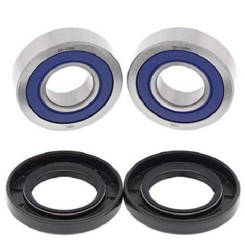 Boss Bearing - Boss Bearing Front Wheel Bearings and Seals Kit for Honda