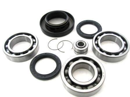 Boss Bearing - Boss Bearing 41-3390-8E4 Rear Differential Bearings and Seals Kit for Honda