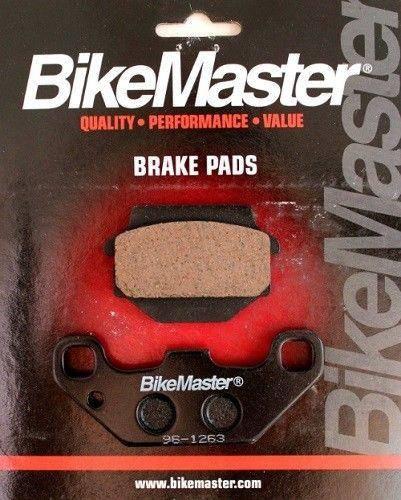 BikeMaster - Boss Bearing Rear Brake Pads BikeMaster 96-1271 for Yamaha YFM660 Grizzly 4x4 2002-2008