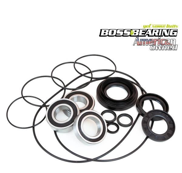 Boss Bearing - Complete Left Rear Axle Brake Panel Bearing Seal Kit for Honda