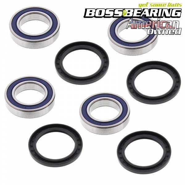 Boss Bearing - Boss Bearing Rear Wheel Bearings and Seals Combo Kit for Kawasaki