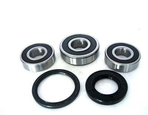 Boss Bearing - Boss Bearing 41-6277B-8G3-A-2 Rear Wheel Bearings and Seals Kit for Honda