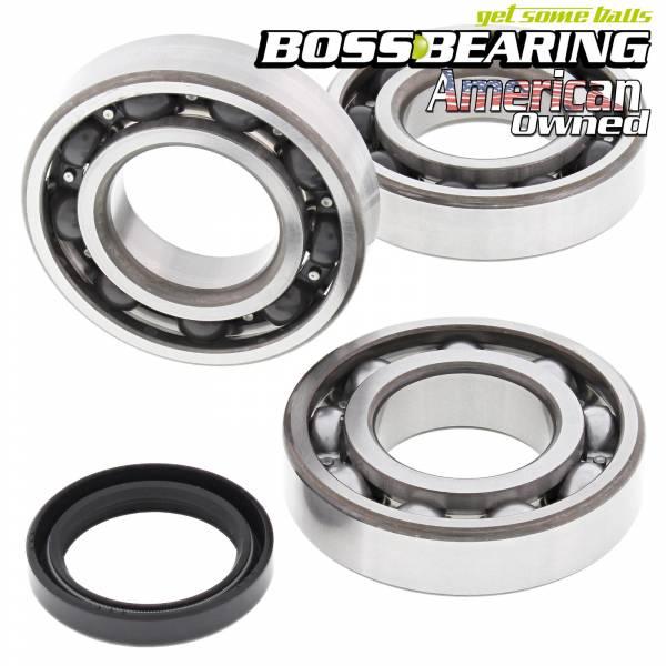 Boss Bearing - Boss Bearing Main Crank Shaft Bearings and Seal Kit for Polaris