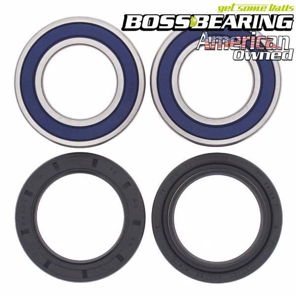 Boss Bearing - Boss Bearing Rear Wheel Bearings Seals Kit for Suzuki
