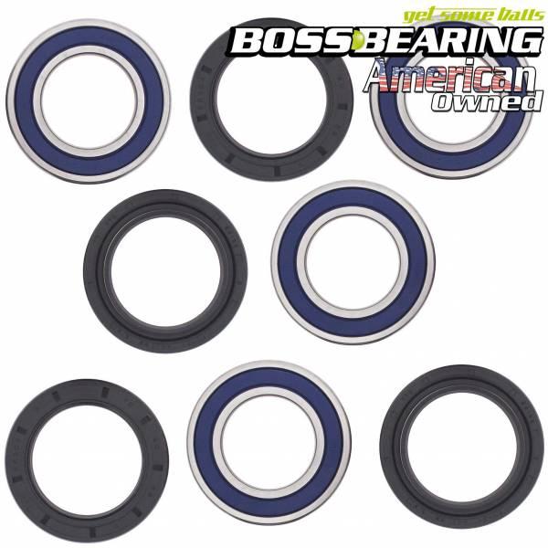 Boss Bearing - Boss Bearing Rear Wheel Bearings and Seals Combo Kit for Suzuki