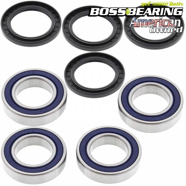 Boss Bearing - Rear Axle Bearing and Seal Combo Kit for Polaris