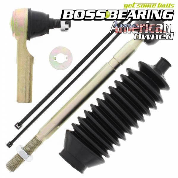 Boss Bearing - Boss Bearing Left Side Tie Rod End Kit for Kawasaki