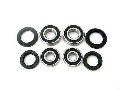 Boss Bearing - Boss Bearing Both Front Wheel Bearings and Seals Kit for Suzuki