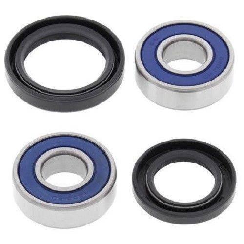 Boss Bearing - Boss Bearing 41-6154B-8H1-A Front Wheel Bearings and Seals Kit for Kawasaki