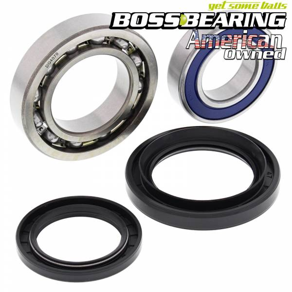 Boss Bearing - Rear Wheel Bearing Kit for Yamaha YFM45FX Wolverine 450 4x4 06-10