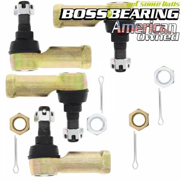 Boss Bearing - Boss Bearing 64-0055 Upgrade 12mm Tie Rod End for Honda