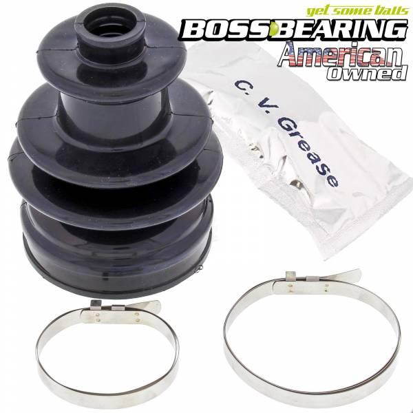 Boss Bearing - Boss Bearing CV Boot Repair Kit Rear Outer for Polaris