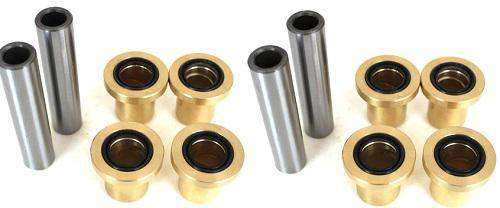 Boss Bearing - Upgraded Bronze Both Front Lower A Arm Bushing Kit for Polaris RZR and Ranger