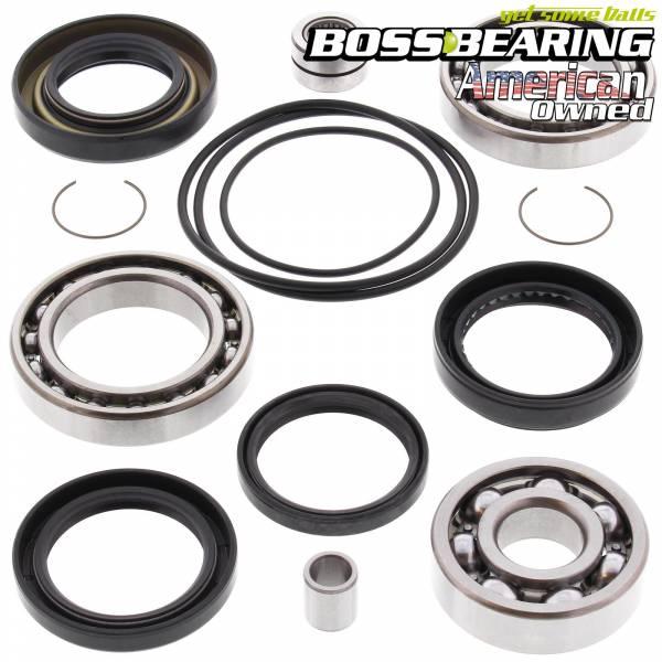 Boss Bearing - Boss Bearing 41-3386-7E1-1 Rear Differential Bearings and Seals Kit for Honda