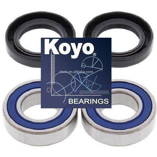 Boss Bearing - Boss Bearing 41-6281BP-8H2-B-4 Premium Japanese Rear Wheel Bearings and Seals Kit