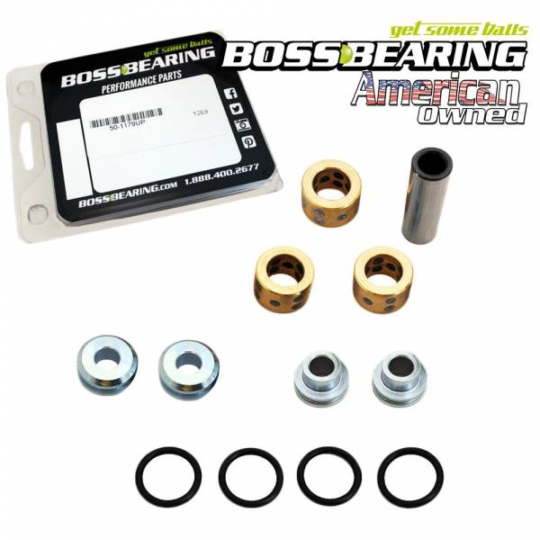 Boss Bearing - Bronze Upgrade! Upper A Arm Bushing Kit for Polaris RZR
