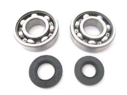 Boss Bearing - Boss Bearing H-CR250-MC-E-73-76-3E4-1 Main Crank Shaft Bearings and Seals Kit for Honda