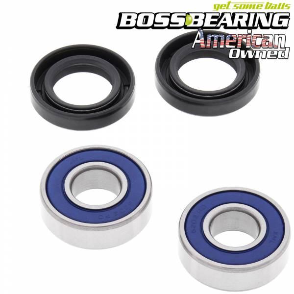 Boss Bearing - Boss Bearing H-ATC-FR-1001-1H1-B Front Wheel Bearings and Seals Kit for Honda ATC70K