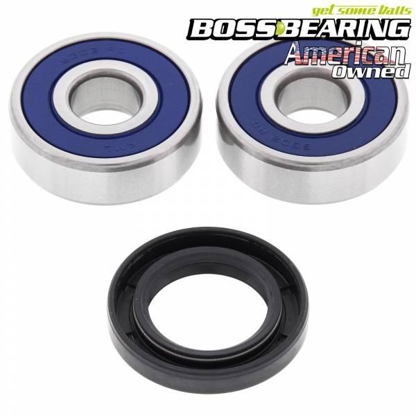 Boss Bearing - Boss Bearing Front Wheel Bearings and Seals Kit for Honda and Yamaha