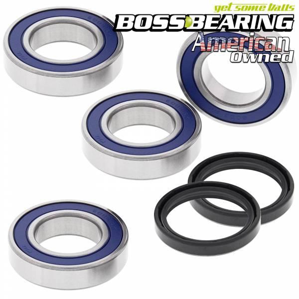 Boss Bearing - Boss Bearing Rear Axle Wheel Bearings and Seals Combo Kit for Arctic Cat and Kawasaki