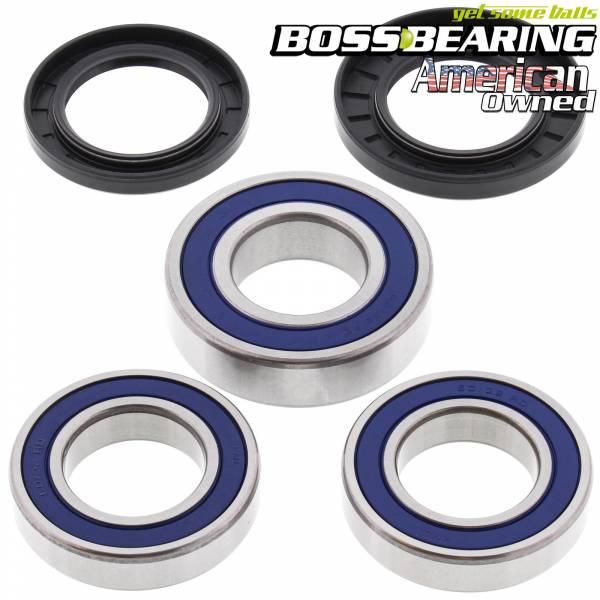 Boss Bearing - Boss Bearing Premium Rear Wheel Bearings and Seals Kit for Suzuki