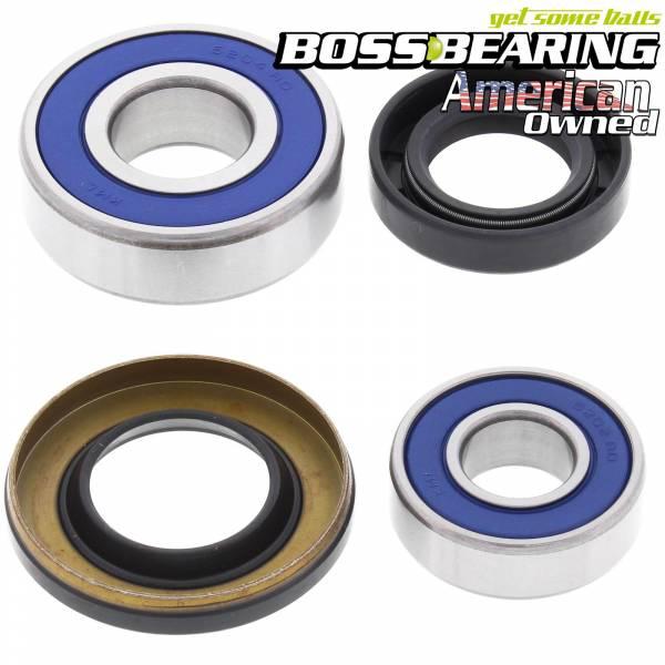 Boss Bearing - Boss Bearing P-ATV-FR-2002-6D6 Front Wheel Bearings and Seals Kit for Polaris