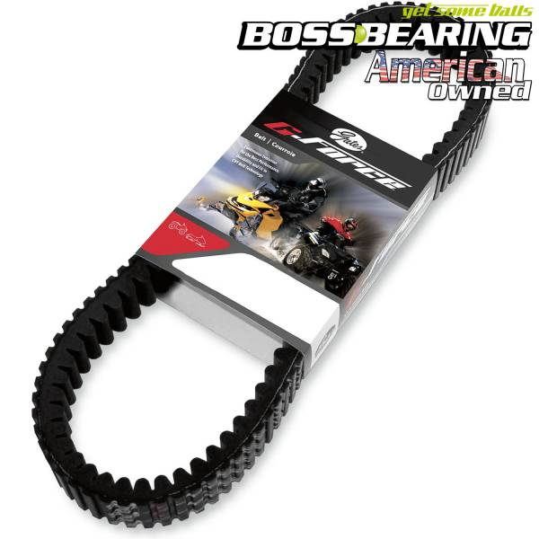 Boss Bearing - Gates G Force Drive Belt 19G4006E for Polaris