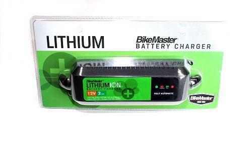 BikeMaster - Boss Bearing BikeMaster Lithium Ion Battery Charger 12 Volts