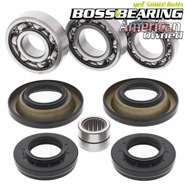 Boss Bearing - Boss Bearing Rear Differential Bearings Seals Kit