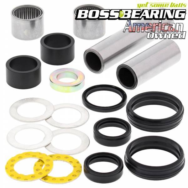 Boss Bearing - Boss Bearing 41-6850-7G5 Complete Swingarm Bearings and Seals Kit for Yamaha