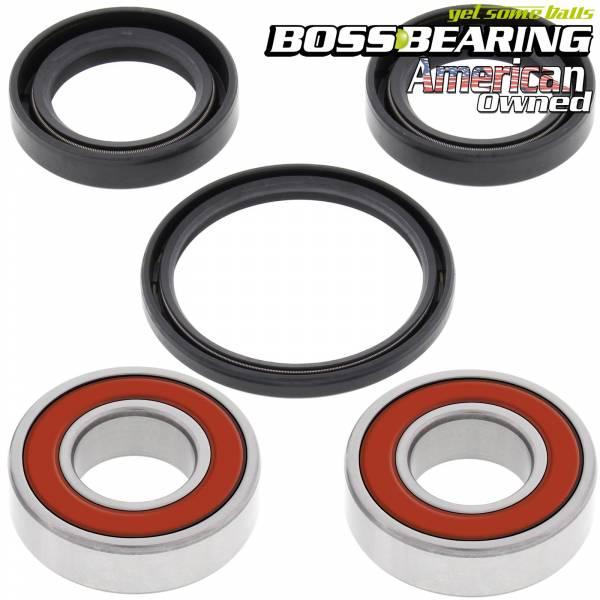 Boss Bearing - Boss Bearing 41-6264BP-8F7-B-3 Premium Front Wheel Bearings and Seals Kit for Honda