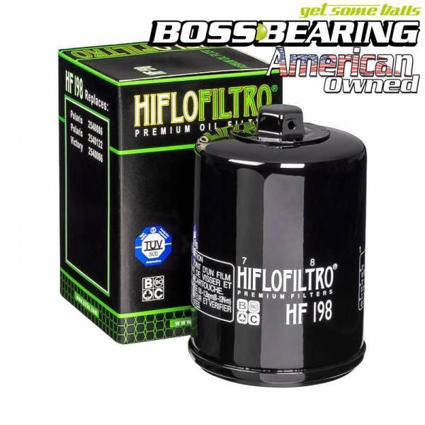 Boss Bearing - Boss Bearing Hiflo Oil Filter HF198 for Polaris