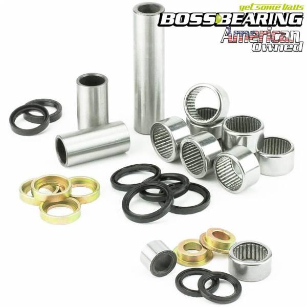 Boss Bearing - Boss Bearing Rear Suspension Linkage Bearings Seals Kit