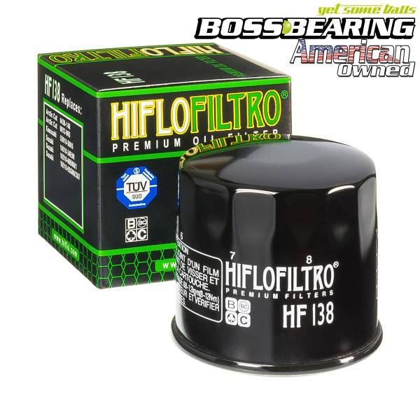 Boss Bearing - Hiflo Oil Filter HF138 from Boss Bearing