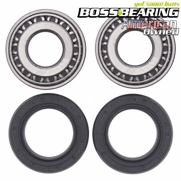 Boss Bearing - Rear Wheel Bearings Seals Kit for Harley-Davidson