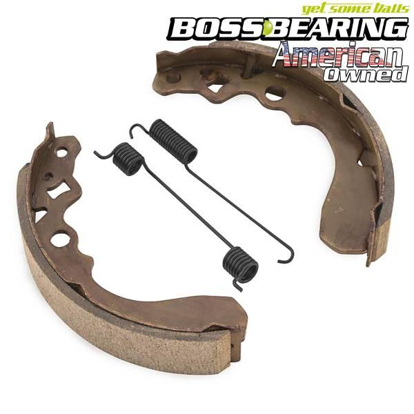 BikeMaster - Boss Bearing Front Brake Shoe BikeMaster MBS4418A KAF400