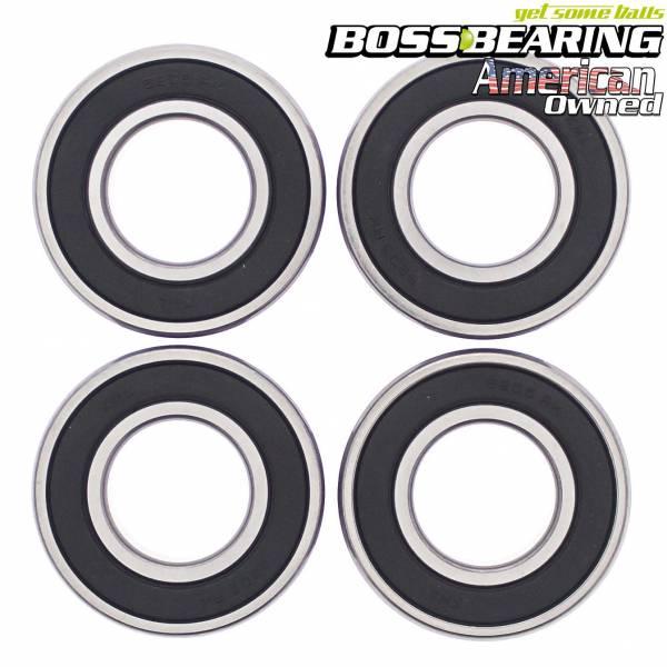 Boss Bearing - Boss Bearing Rear Axle Bearings Kit for Kawasaki and Harley